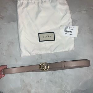 Gucci Leather Belt Double G Buckle *PRICE FIRM*